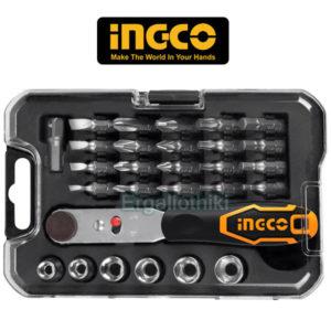 Набор отверток и бит Ingco HKSDB0281 28ps