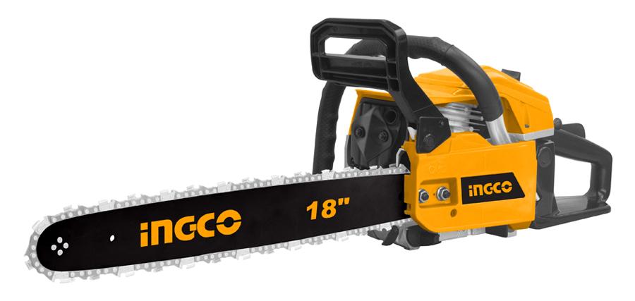 Пила бензиновая ручная Ingco GCS45184