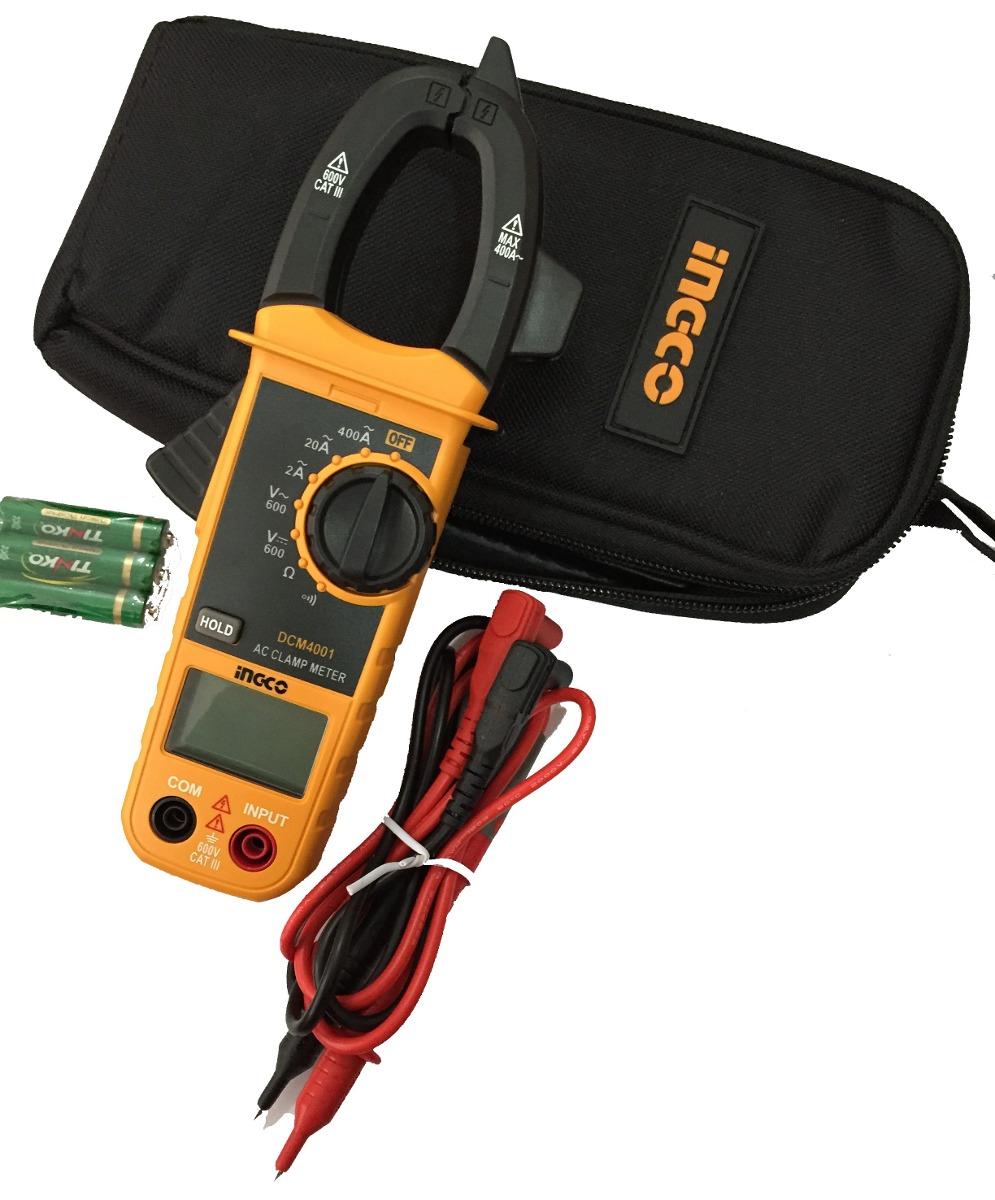 Мультиметр клещи Ingco DCM4001